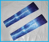 128 Color lightning Camo Compression Arm Sleeve For Baseball...