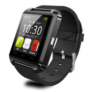 Bluetooth Smartwatch U8 2016 Reloj de pulsera inteligente U Watch Smart Watch para iPhone 4 / 4S / 5 / 5S Samsung S4 / S5 / Note 2 / Note 3 HTC Android Phone