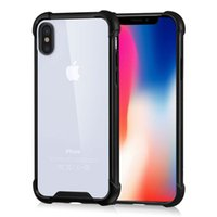 Shockproof Airbag Cell Phone Cases For iPhone X 8 8 Plus PC ...