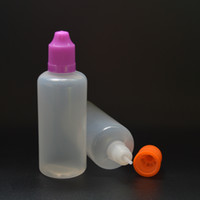 60ml LDPE Plastic Dropper Bottle With Childproof Cap And Lon...