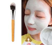 새로운 여성 메이크업 브러쉬 10PCS / 많은 대나무 손잡이 페이셜 마스크 메이크업 브러쉬 얼굴 미용 브러쉬 무료 배송