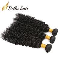 (Único navio para os EUA)Mais barato cozido 7a Curly Wave Brasileiro Cabelo Humano Para Mulheres Negras um cabelo doador 12-24inch livre transporte
