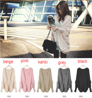 New Fall and Winter Cardigan Bat Sleeve Sweater Cardigan Kni...