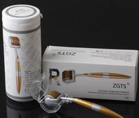 192 핀 티타늄 더 마 롤러 ZGTS 스킨 롤러 Microneedle Cellulite 안티 에이징 0.2-3.0mm 피부 관리기 무료 배송