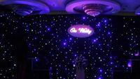 3x6 meter LED Star Gordijn LED Star Cloth DJ Effect Wedding Backdrop met Contoller