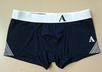 25ef8a11b Moda Itália Underwear Mens Pugilistas De Algodão Pugilista Homme Marca  Underwear Cueca Boxer Shorts Cuecas Masculinas