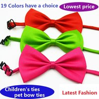 Free shipping - Wholesale 100pcs lot Dog Neck Ties Dog Bow T...