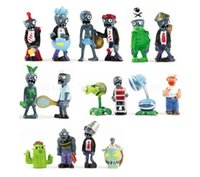 16 x Plants vs Zombies Toys Series Game Role Figure Display ...