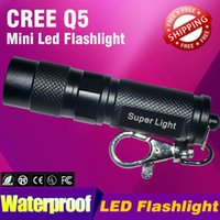 Black Aluminum Portable LED Flashlight Torch 1000LM 7W CREE ...