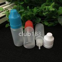 trasporto veloce Bottiglia sigaretta elettronica di plastica bottiglie di olio e-liquido vuota contagocce 10ml E Liquid Bottiglia dalla fabbrica della Cina all-