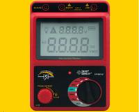 Hochspannung 2500V Isolationswiderstand Tester Meter Megger Reichweite 49,9 GOhm AR907A +
