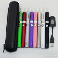 EVOD MT3 Starter Kits con e-cigarrillo 650/900 / 1100mAH batería cigarrillos electrónicos MT3 Vaporizador Atomizador tanque vape mod kit de caja de cremallera