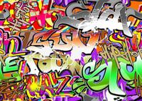 7x5ft Vinile Personalizzato Fondali Fotografia Digitale Prop Sfondo Studio Fotografico Graffiti TY-099