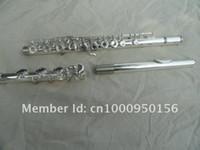 Professionale Flauto 17 fori Aperture C Tone Flauto Inoltre il tasto E Superficie argento placcato Flauto FL-271s strumenti musicali