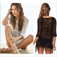 Fashion Women' s Crochet Bikini Swimwear Cover Ups Summe...