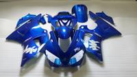 Kit de Carenagem de Motocicleta para 2000 2001 YAMAHA YZFR1 00 01 YZF R1 YZF-R1 YZR1000 00 01 carenagens Azuis corpo + 7 compartimentos YS66