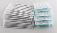 도매 - (5RM + 5FT)와 튜브 50PCS 무균의 + 100PCS 혼합 50PCS 일회용 문신 팁 무료 배송