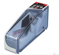 Mini Portable Handy Bill compteur d'argent pour plus monnaie notes Comptage Machine EU-V40 matériel financier en gros