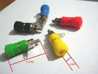 20 PCS Binding Post 4mm 바나나 플러그 용 스피커 터미널