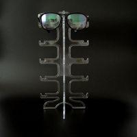 المحمولة واضح 5 أزواج نظارات شمسية عرض الرف حامل الإطار النظارات عرض موقف نظارات نظارات عرض القضية شحن مجاني