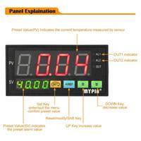 Freeshipping цифровой датчик метр Многофункциональный Интеллектуальный светодиодный дисплей 0-75mV / 4-20 мА / 0-10 2 реле Выход сигнала тревоги