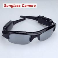 Sonnenbrille-Kamera tragbare Eyewear-DVR-Mini-Camcorder Sonnenbrillen-Kamera-Mini-Audio-Videorecorder im Einzelhandel-Box-Dropship