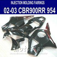 Injection molding for Honda cbr900rr fairings 954 2002 2003 red black CBR900 954RR ABS fairing kit CBR954 02 03 YR13