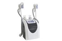 اثنين من cryo مقابض الدهون تجميد آلة التخسيس التجويف RF كول نظام نحت الجسم تجويف + RF معدات التخسيس المجمدة