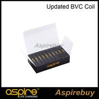 100% autentico Aspire Aspire BVC Bobine Dual Bobine per Aspire CE5 CE5-S ET ET-S Clearomizer BDC Bobina elettronica aggiornata