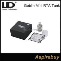 100% оригинал Youde UD Goblin Mini RTA Atomizer 3ML Отверстие вентиляционного отверстия в форме полумесяца Больше, чем у Goblin Atomizer Control