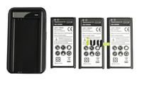 مل 3pcs 3800mAh وEB-BG900BBC / BBE استبدال البطارية + USB شاحن للحصول على سامسونج غالاكسي S5 SV I9600 G900A G900P G900R4 G900T G900V G860