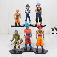 6pcs set Dragon Ball Z DXF Son Goku Krillin Kuririn Resurrec...