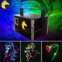 ILDA 인터페이스 빔 애니메이션 llight / 레이저 표시 시스템 / DJ / 스테이지 레이저 쇼 40kpps 갈보 3W SD 카드 레이저