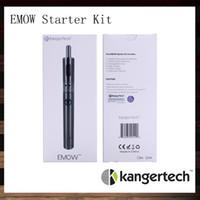 Kanger EMOW Starter Kit 100% оригинал Kangertech EMOW с Kanger Aerotank косить двойной катушки очиститель