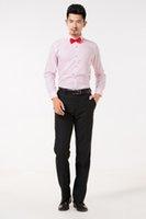 Продажа Высокого Качества Жених Рубашки Лучший Человек Рубашка С Длинным Рукавом Белая Рубашка Жених Аксессуары 01