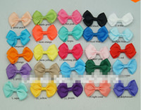"50 Pcs lot 2. 5"" Solid Hair Bow For Baby Girls Hair Bow ..."