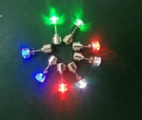 Stud Earrings Fashion HOT Pair LED Glowing Light Up Earrings...