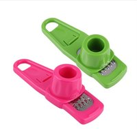 Free Shipping Pressing Vegetable Food Garlic Onion Press Twi...