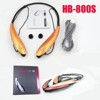 Alta calidad HB-800S Wireless Bluetooth 4.0 auriculares estéreo HB800S auriculares para Iphone 6 plus Samsung Note 4 libre de DHL
