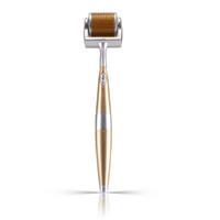Titanyum 192 İğne Mikro İğne Derma Roller Akne Kırışıklık Temizleme Anti-age Cilt Bakımı cilt güzelliği masaj sıkın