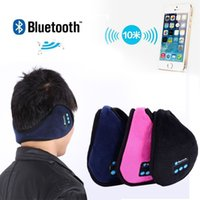Wholesale- Wireless Bluetooth Earmuffs Music Headset Stereo H...