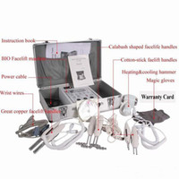 BIO Sihirli Eldiven Microcurrent Yüz Germe Yüz Makinesi Sıkma Yüz Cilt Spa Salon Profesyonel Mikro Akım Sistem