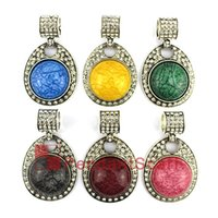 New Design Jewelry Pendant Scarf Accessories 6 Colors Mixed ...