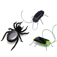 Wholesale- Solar Power Educational Energy Cockroach Spider G...