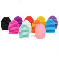 Hot Selling Popular Skin Cleansing Brush Egg 11 Colors Silic...