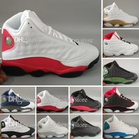 high quality Cheap retro 13 XIII MENS Basketball Shoes black...