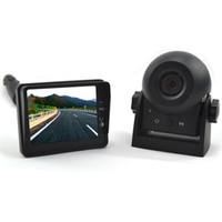 Цифровая беспроводная магнитная аккумуляторная батарея портативный автомобиль заднего вида Camith Camera Kit для караван / трейлер Бесплатная доставка