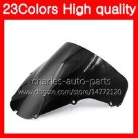 100% ny motorcykel vindrutan för Honda CBR929RR 00 01 CBR900RR CBR 929 RR 900RR CBR929 RR 2000 2001 Chrome Black Clear Smoke Windshast