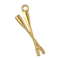 Freie neue Art und Weise des Verschiffens einfach zu den sportlichen Charmeschmucksachen der diy Rudergeschenkmannschaftsrudern 30pcs, die Sitz für Halskette oder Armband bilden