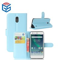 Nokia 2 / 1의 Nokia 7 / 7 Plus Wallet Case Wallet 가죽 플립 커버 카드 홀더 저렴한 가격